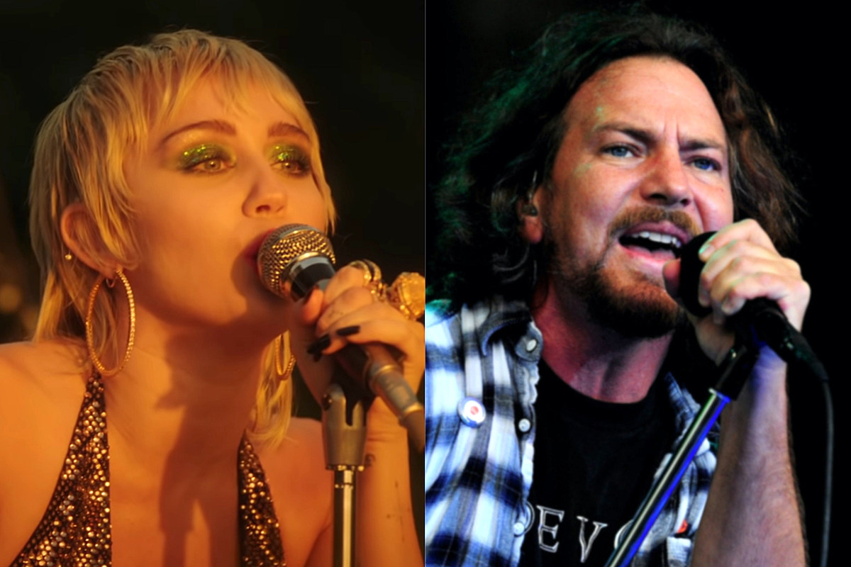 miley cyrus pearl jam Watch Miley Cyrus Cover Pearl Jam on 'MTV Unplugged'