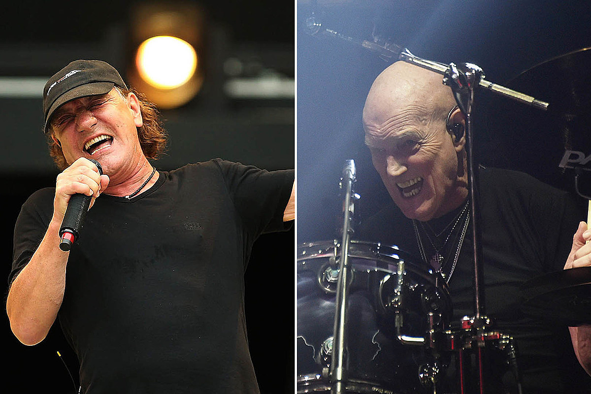 slade Brian Johnson: Chris Slade Had to Have Known He Wasn't in AC/DC