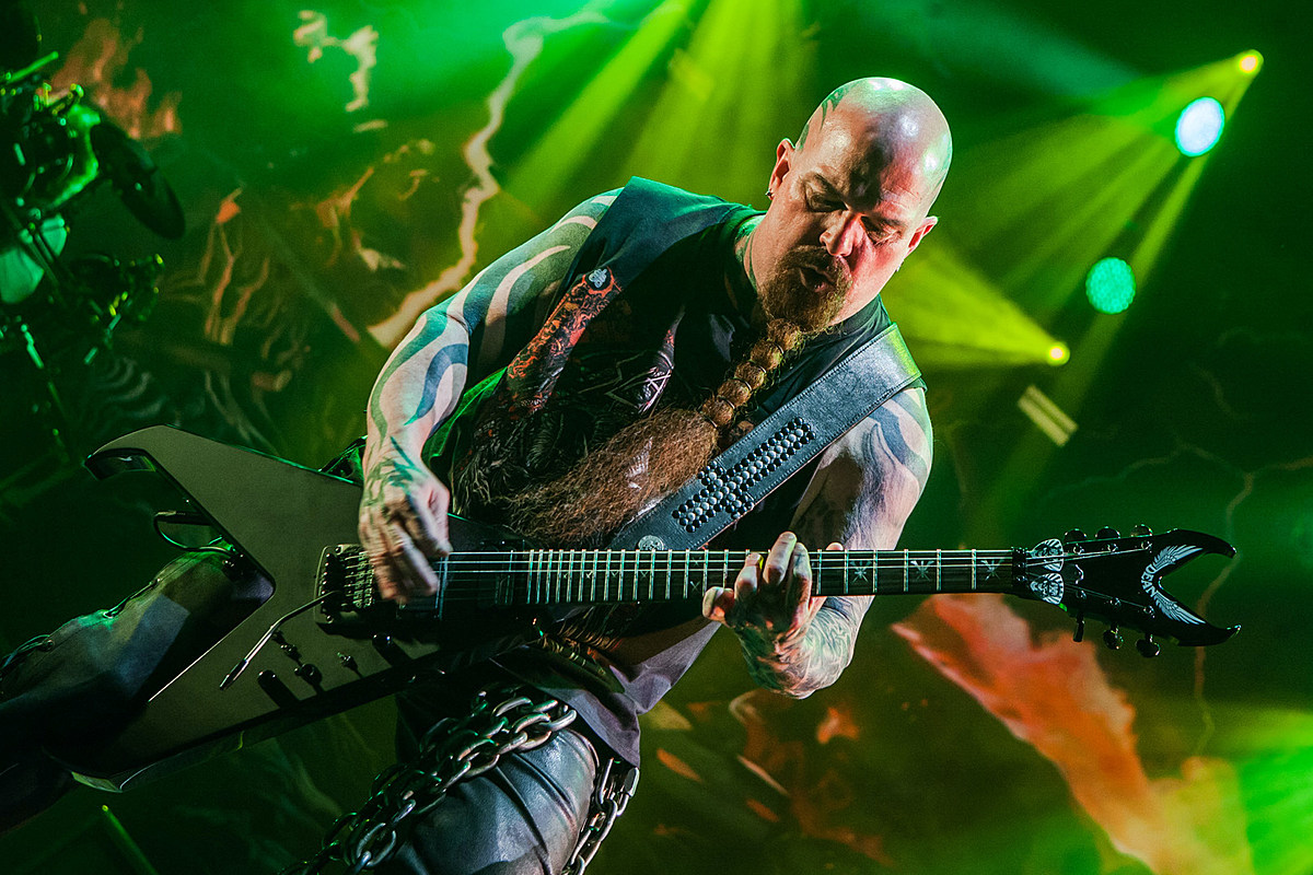slayer kerry king live asheville nc Slayer's Kerry King Gets Limited Signature Axe From Dean Guitars