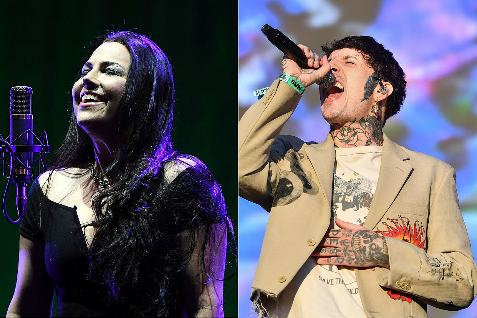 Amy Lee: Bring Me the Horizon Helped Me When I Was Feeling Stuck