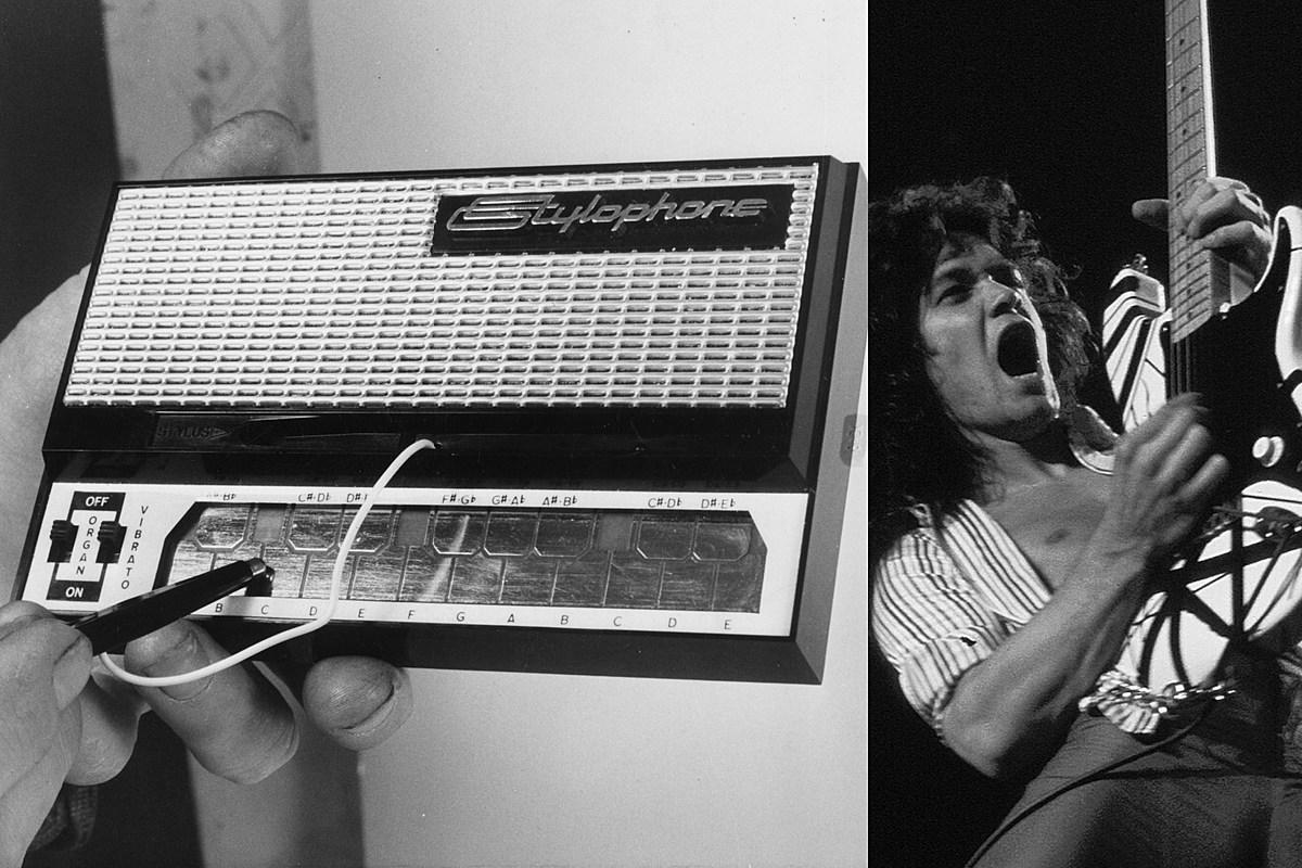 van halen stylophone eruption Van Halen 'Eruption' Played on Stylophone Is Surprisingly Heavy