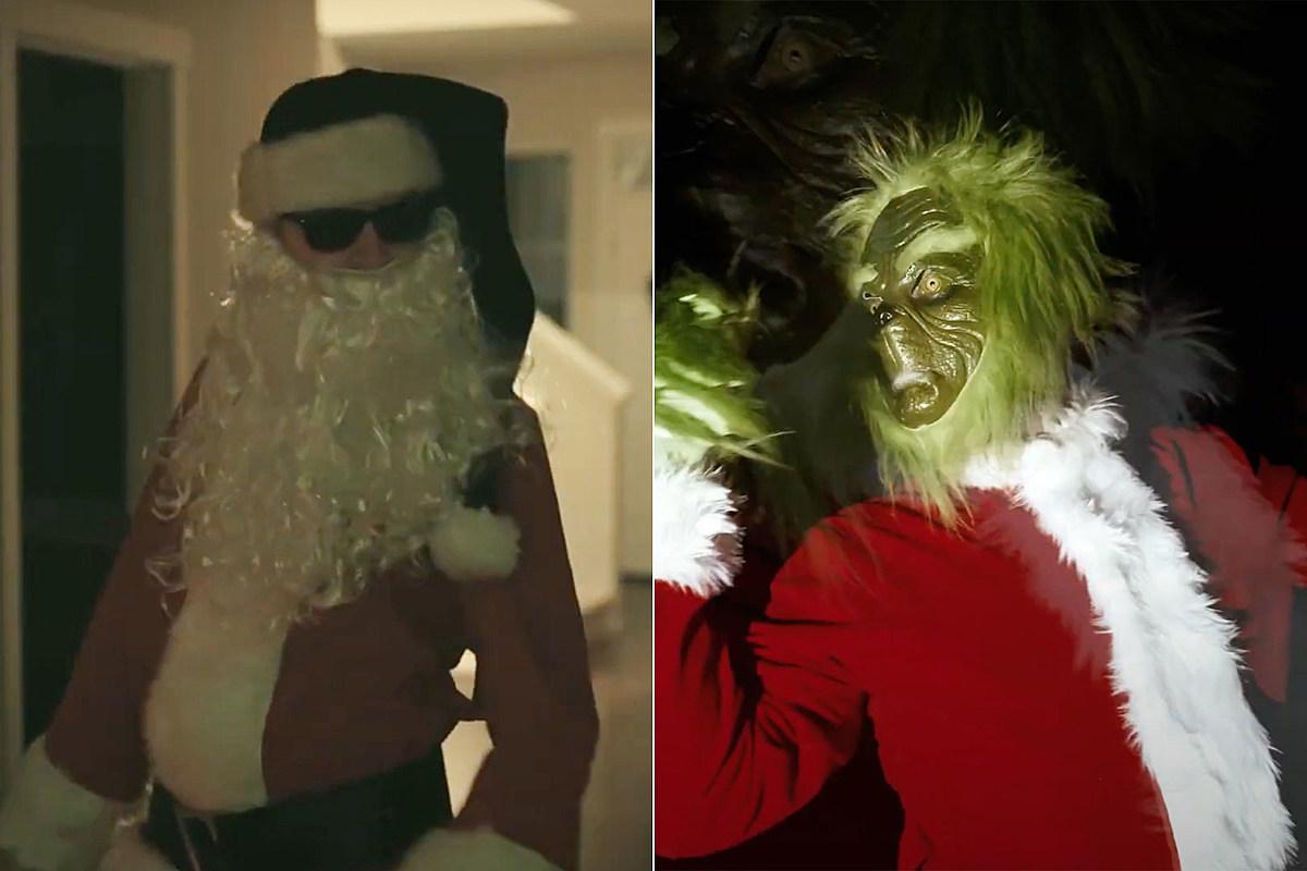Дэнни Уорсноп + Джаред Дайнс выпускают металлическую версию 'Вы — подлый, мистер Гринч'