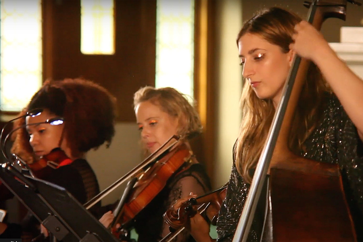 «Самая короткая соломинка» Metallica получила обновление в женском оркестре