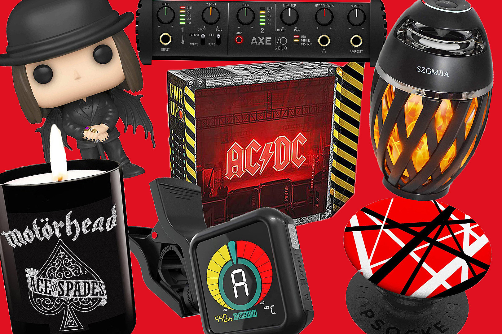 26 Holiday Gifts for Rock + Metal Fanatics