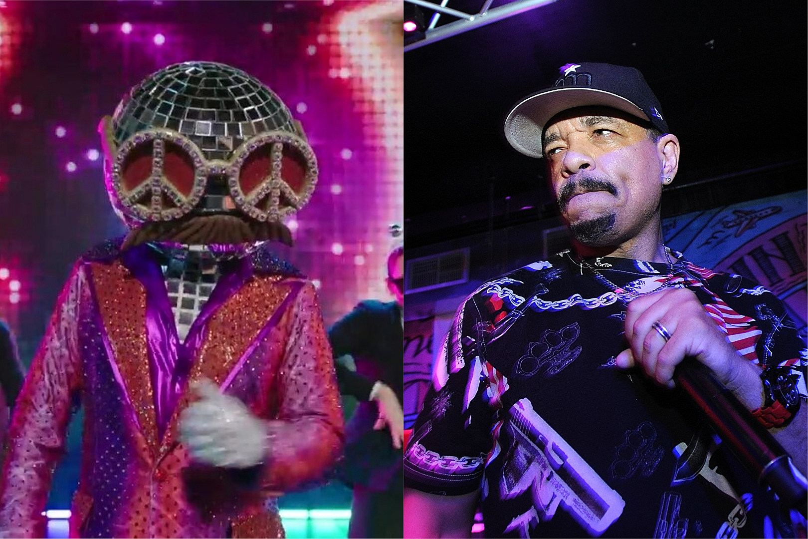 Ice T Unmasked As Disco Ball On Fox S New The Masked Dancer