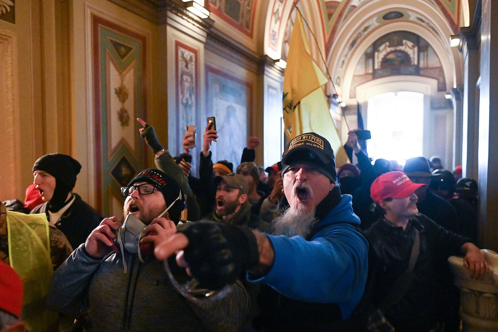 Report: Schaffer Wore Hat of Militia Who Planned Capitol Attack