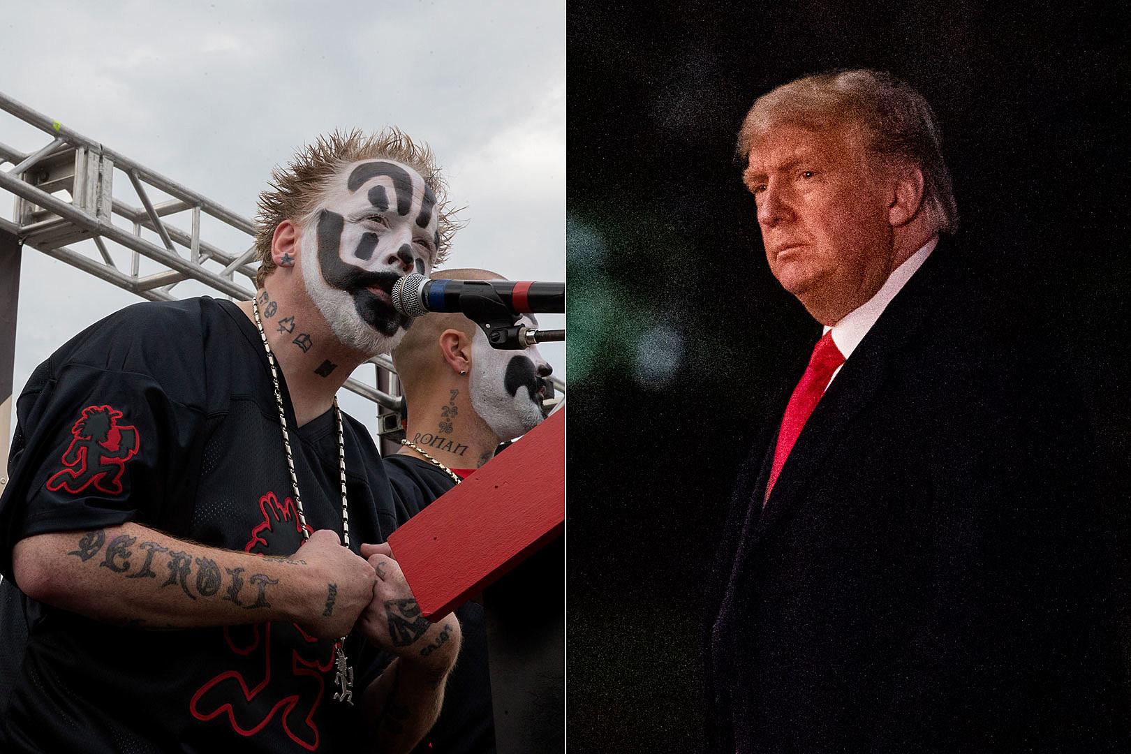 ICP's Violent J Blasts Media for Comparing 'Trumpist' to Juggalos