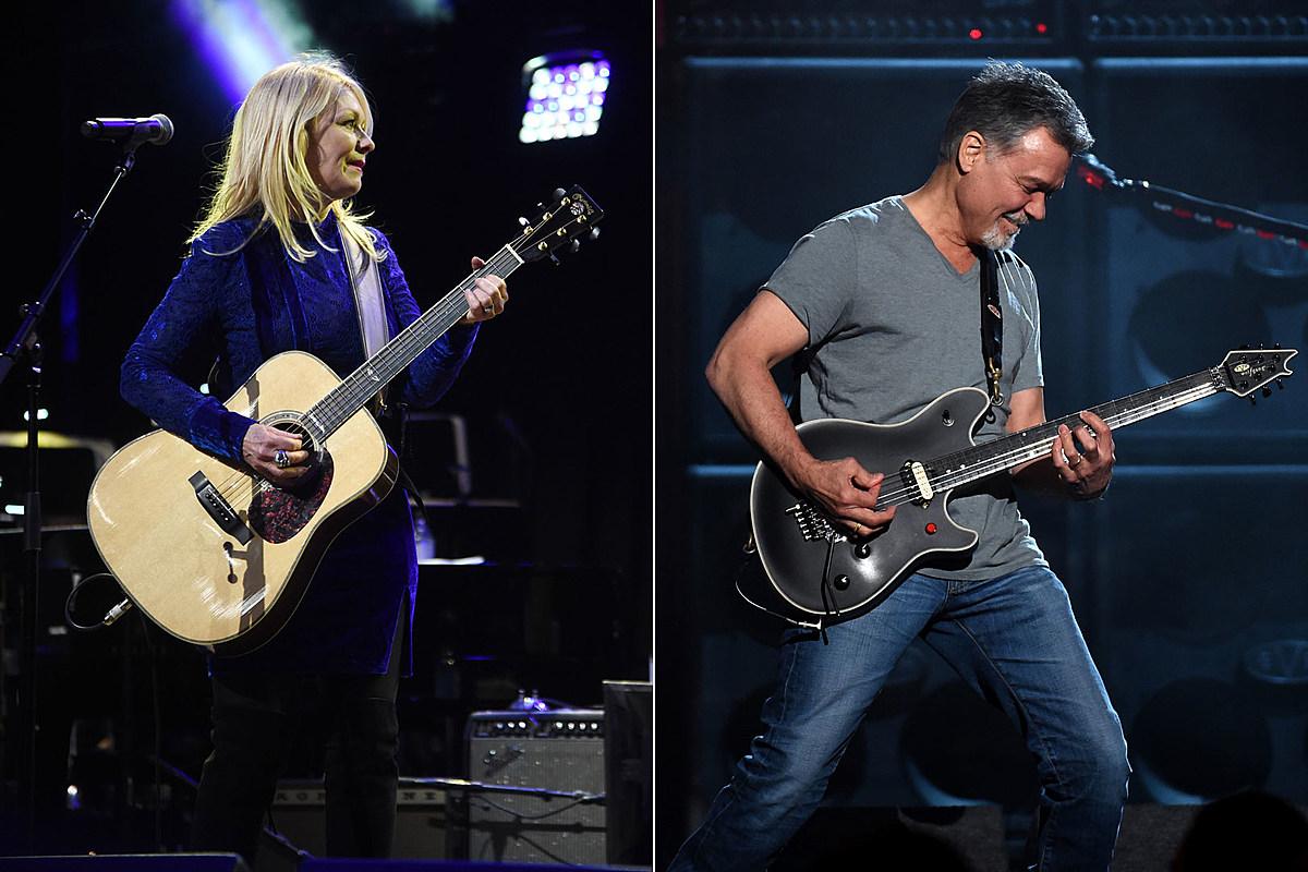 Нэнси Уилсон из Heart первой подарила Эдди Ван Халену акустическую гитару