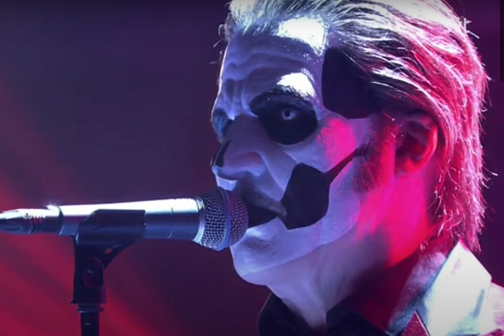 Ghost's Papa Emeritus IV Makes First TV Appearance