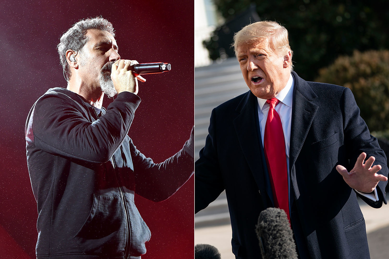 Tankian Rips Trump: 'Never Seen a President Suck So Much C**k'