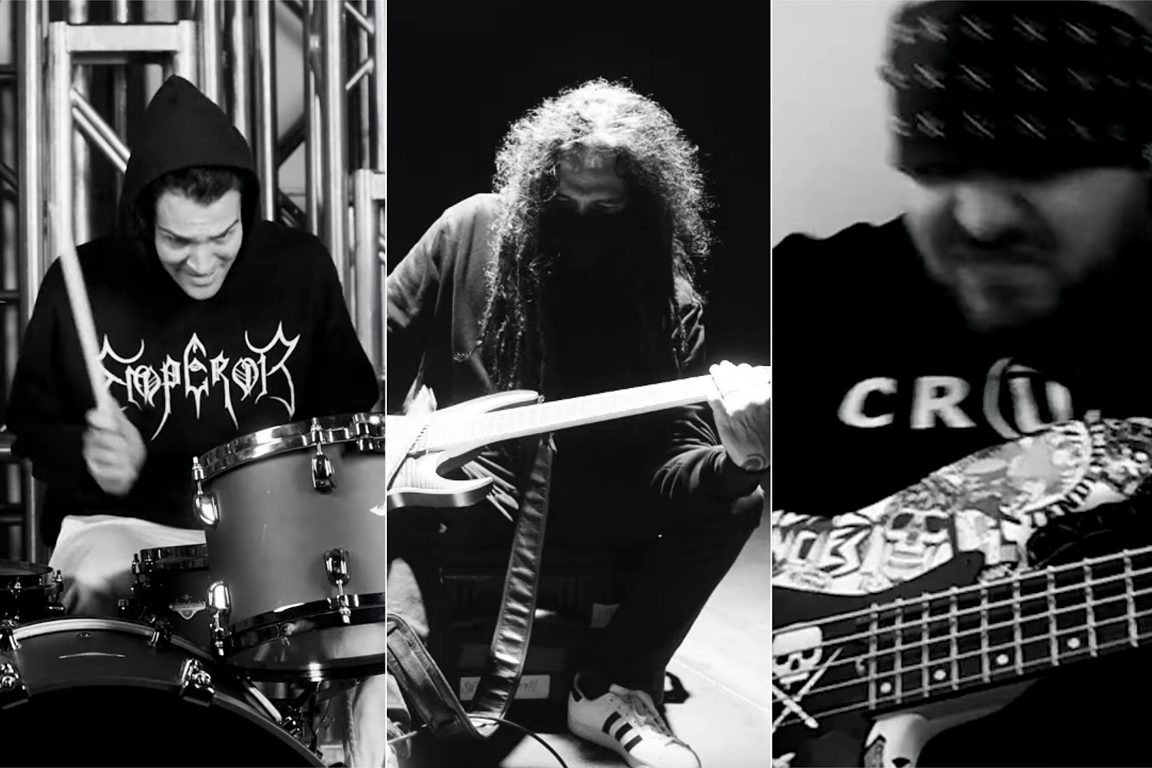 Hear Fever 333, Korn + Suicidal Tendencies Members' Noise Collab