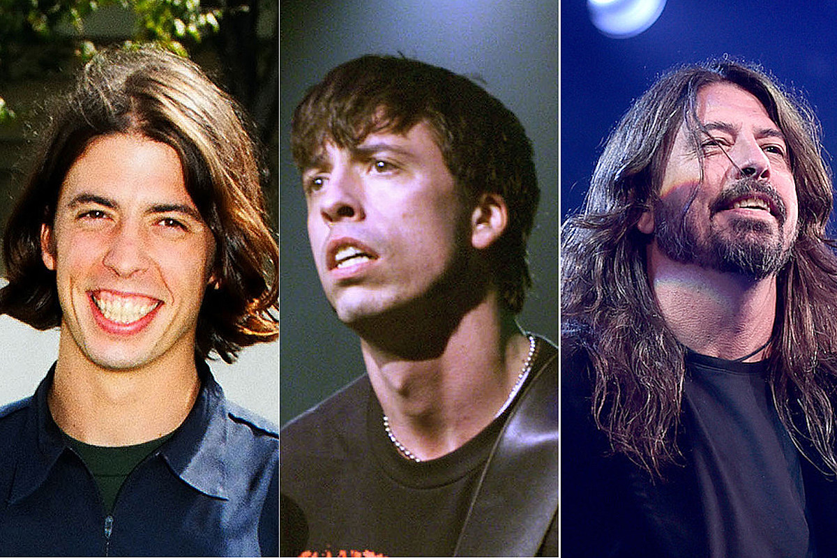 See Photos of Dave Grohl Through the Years