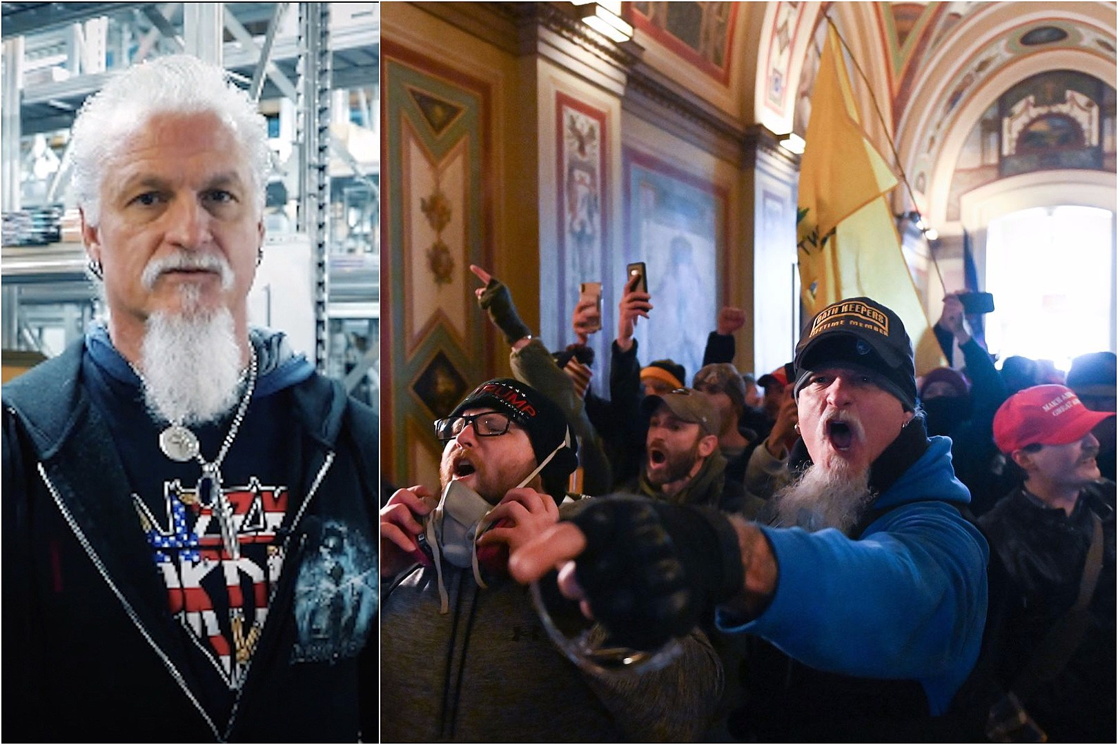 Iced Earth Guitarist Among Pro-Trump Mob That Stormed Capitol