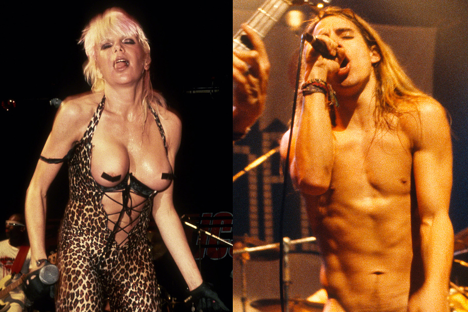 10 Times Musicians Got Naked Onstage