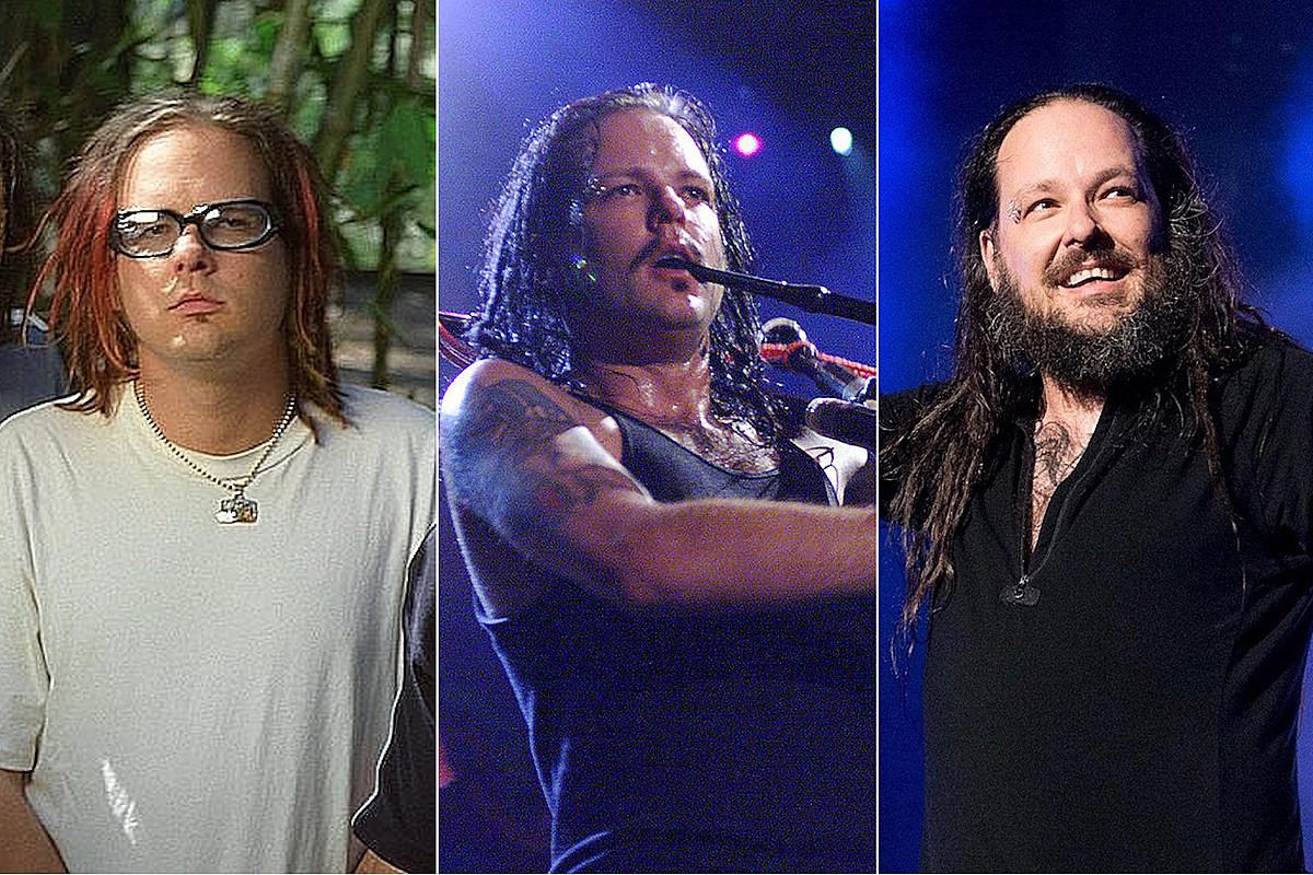 Посмотреть фотографии Джонатана Дэвиса из Korn в течение многих лет