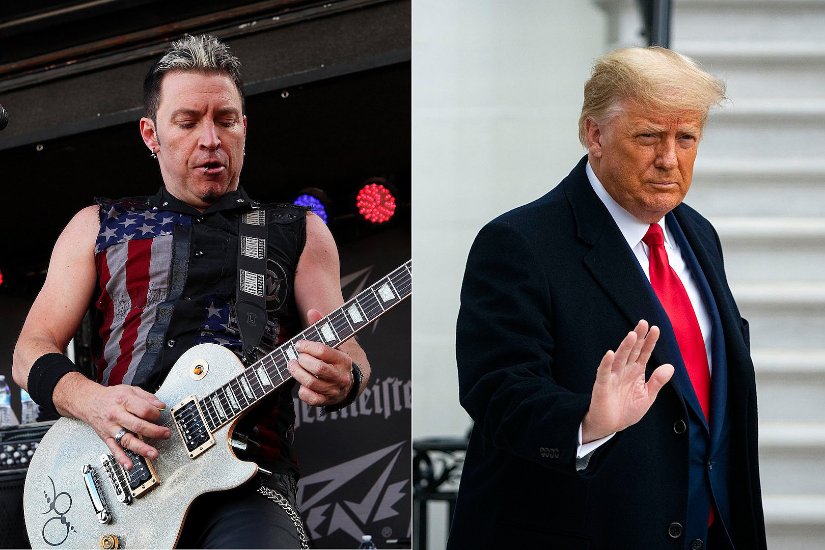 Fozzy Guitarist Says Trump Was Best President of His Lifetime