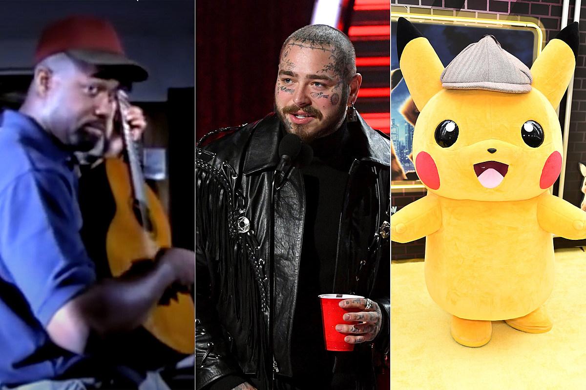 Пост Мэлоун покрывает Hootie and the Blowfish для 'Pokemon Day'