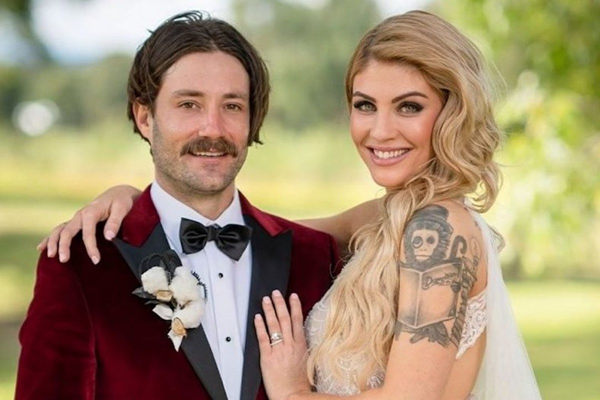Make Them Suffer's Booka Nile Gets Hitched on 'Married at First Sight' Australia