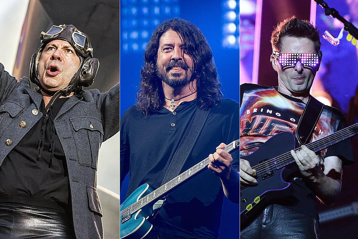 Концертная лотерея от команды Iron Maiden, Foo Fighters и Muse