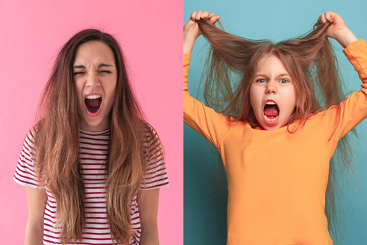 Послушайте двух сестер 3 и 7 лет, потренируйте их рычание в стиле хэви-метал