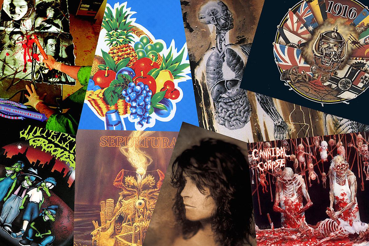 32 лучших металлических альбома 1991 года