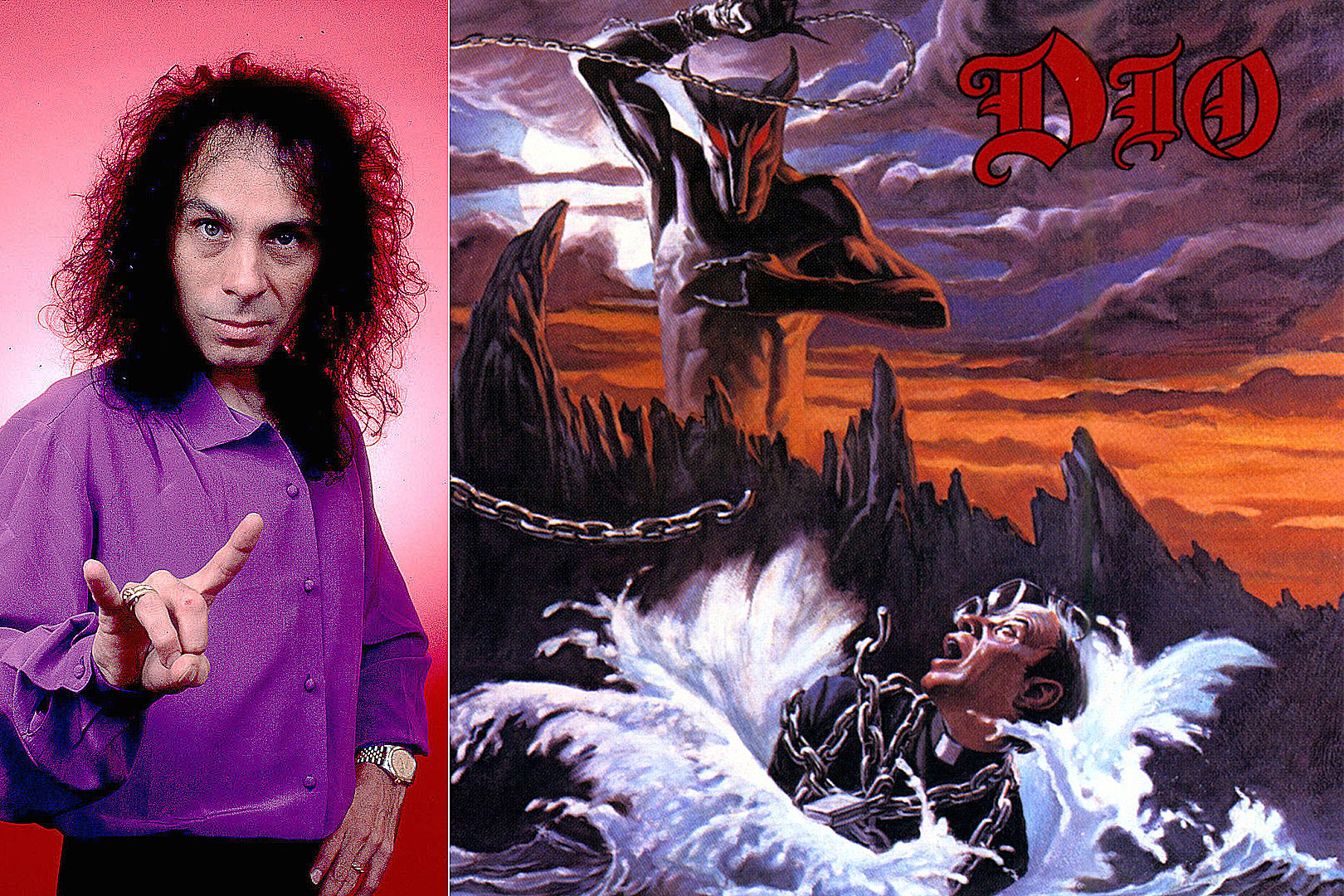 Here's a First Look at the New 'Holy Diver' Dio Graphic Novel