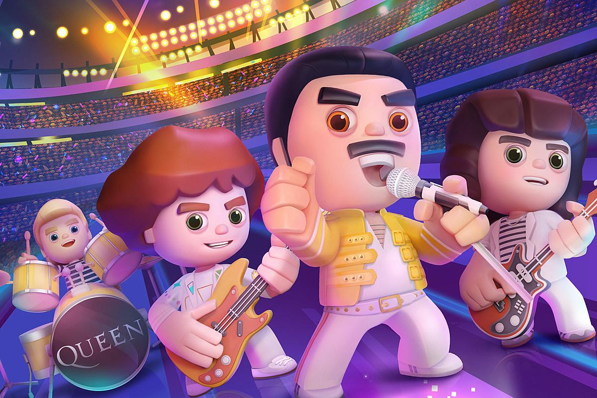 Сыграйте в «Rock Tour» группы Queen, первую мобильную видеоигру группы