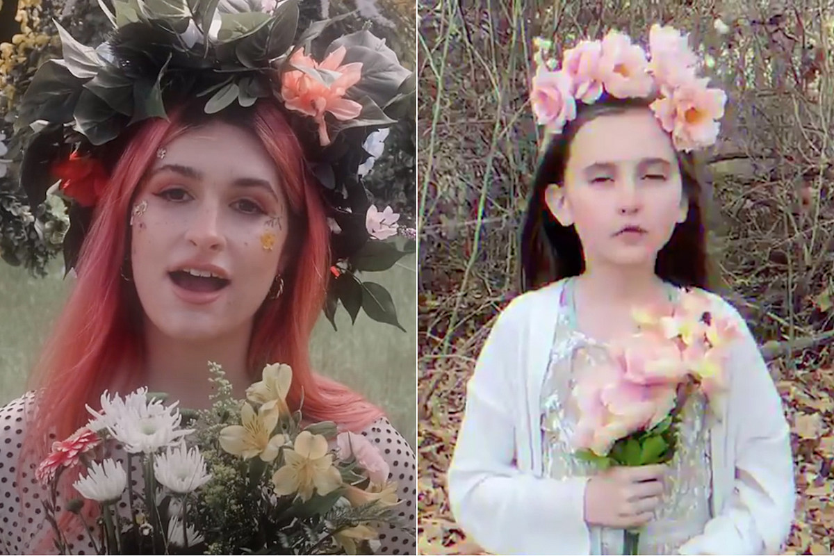 Little Girl воссоздает триповый клип Spiritbox 'Holy Roller'