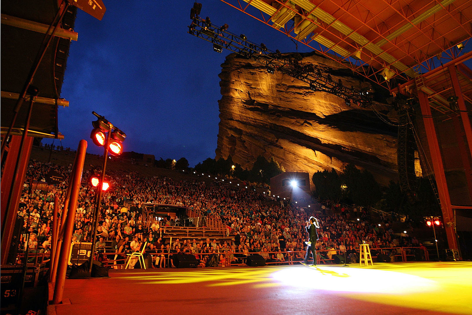 Red Rocks Calendar 2022.Colorado S Red Rocks Amphitheatre To Reopen At Limited Capacity