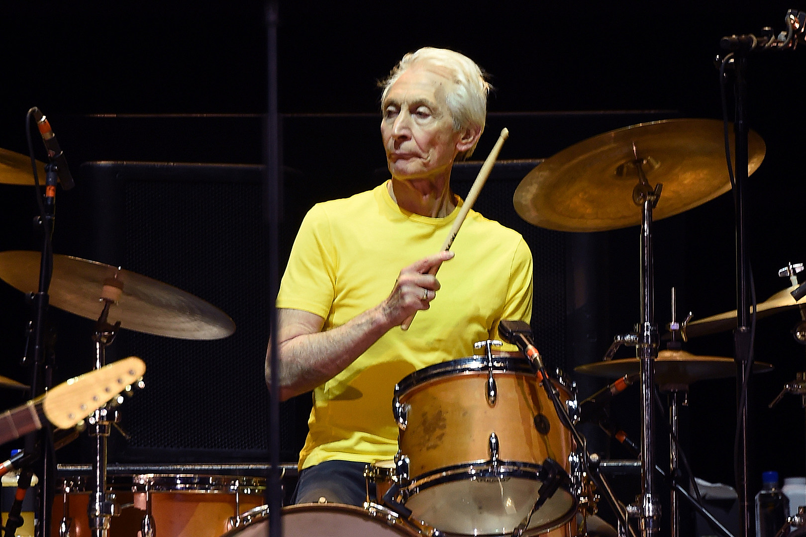 Charlie Watts to Sit Out 2021 Rolling Stones Tour, Fill-In Named