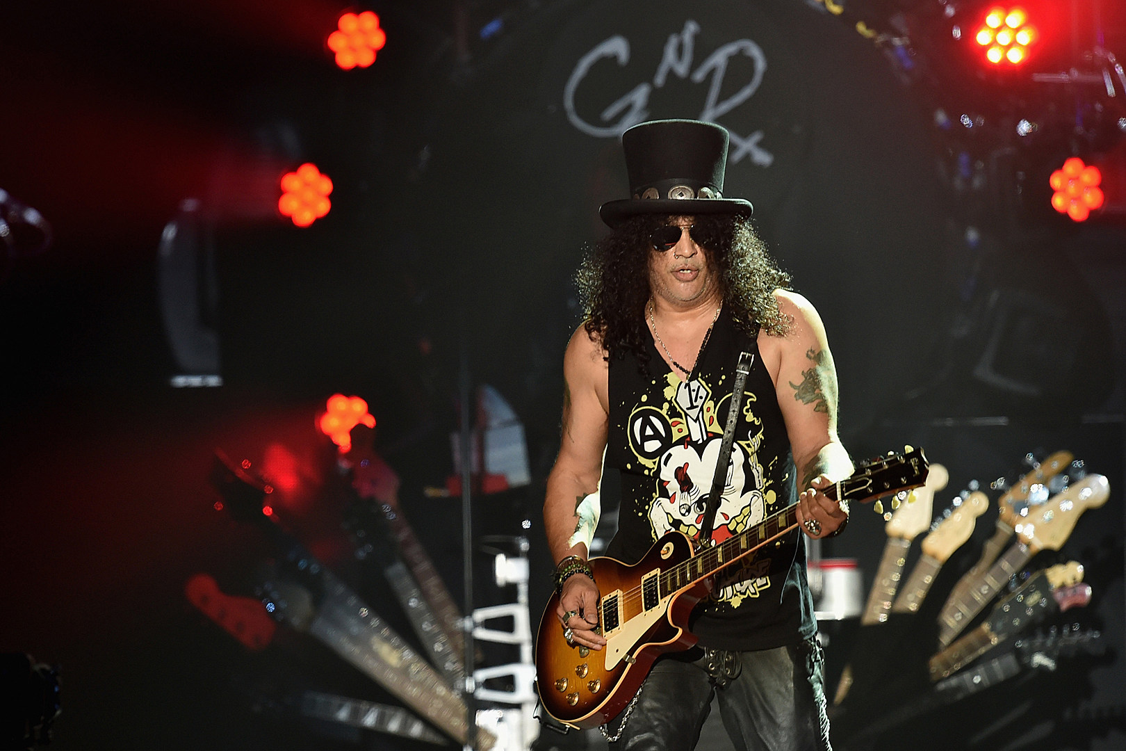 Slash Gives an Update on Guns N' Roses
