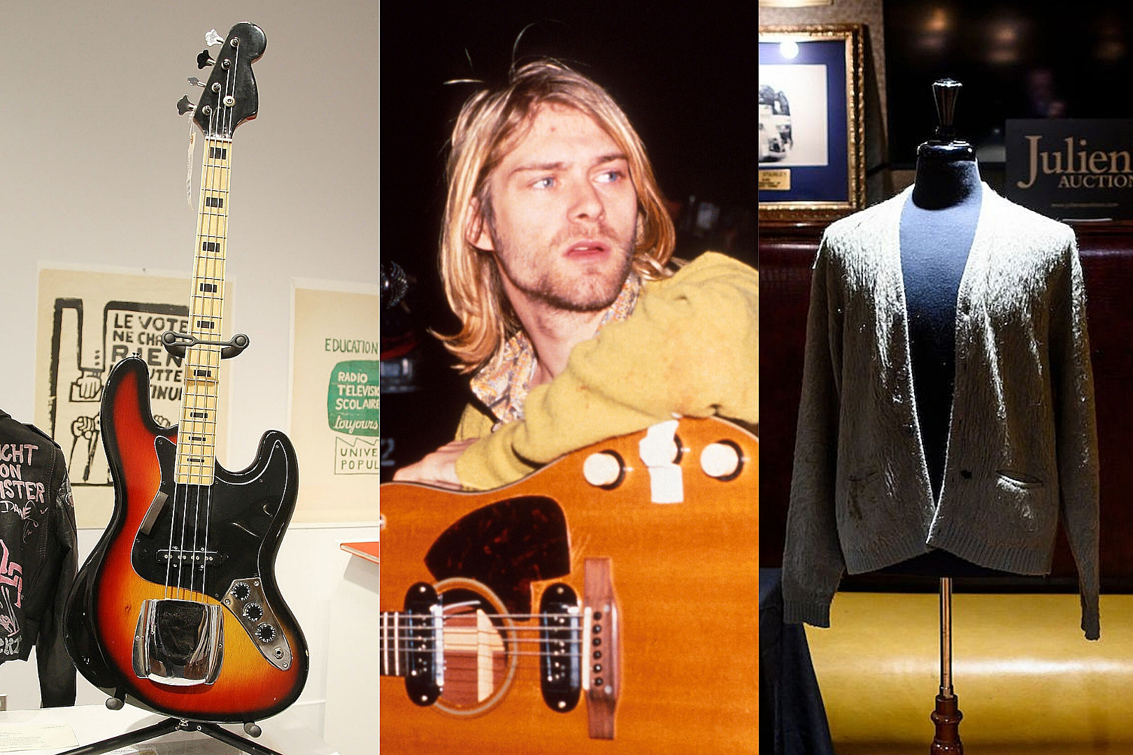 The 25 Most Expensive Kurt Cobain Items Sold at Auction
