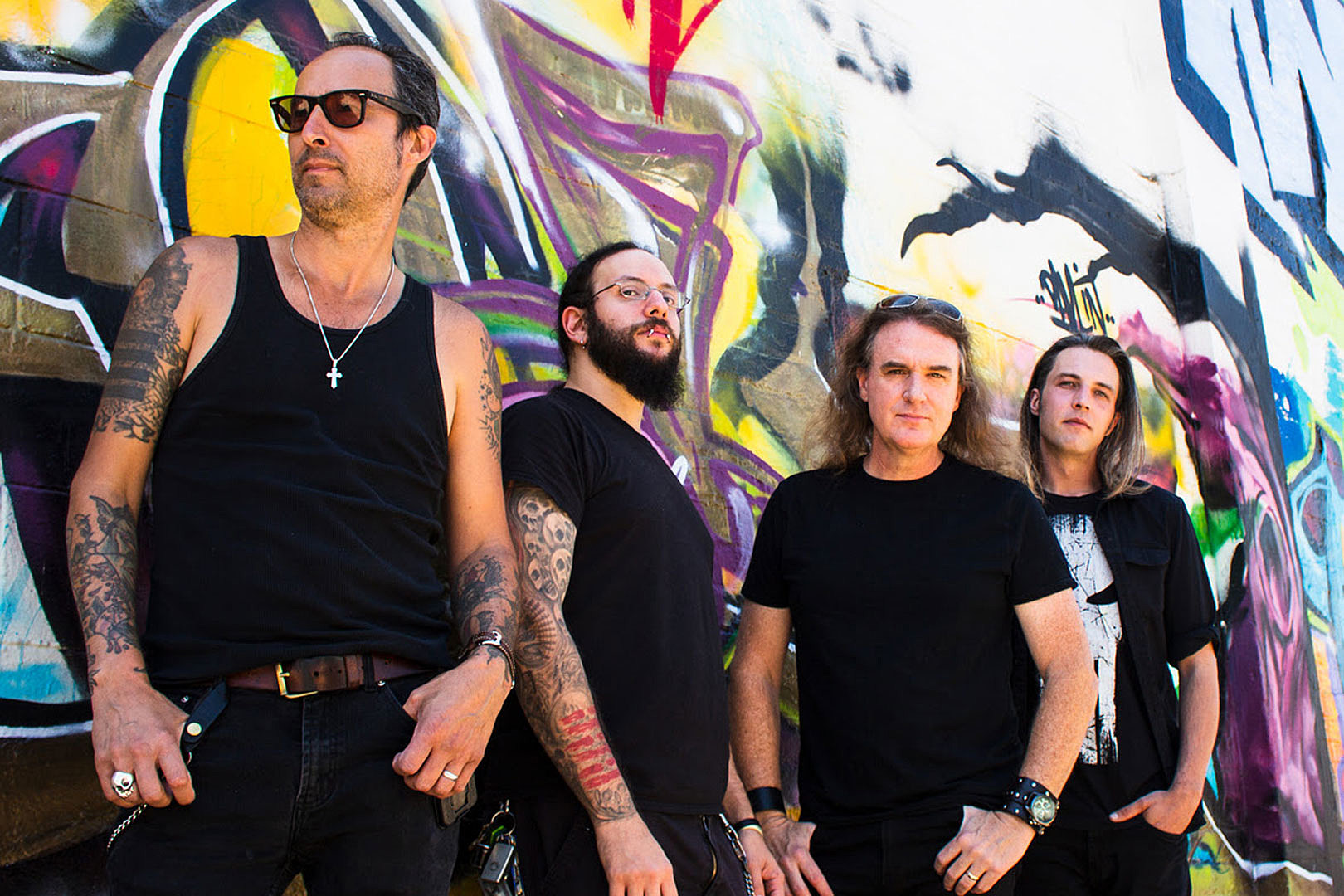 David Ellefson's New Band The Lucid Drops Second Single 'Damned'