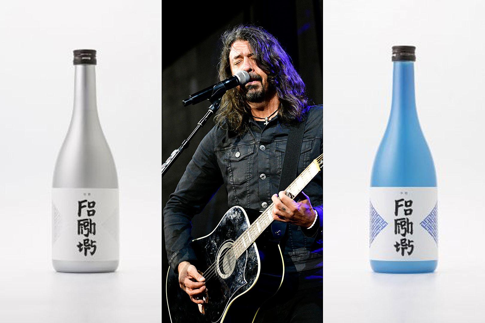 Foo Fighters Now Have a TATENOKAWA Sake