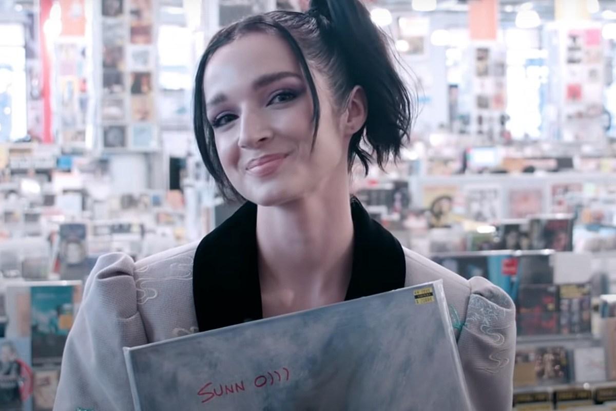 Poppy Fills Her 'Amoeba' Bag With Doom + Black Metal