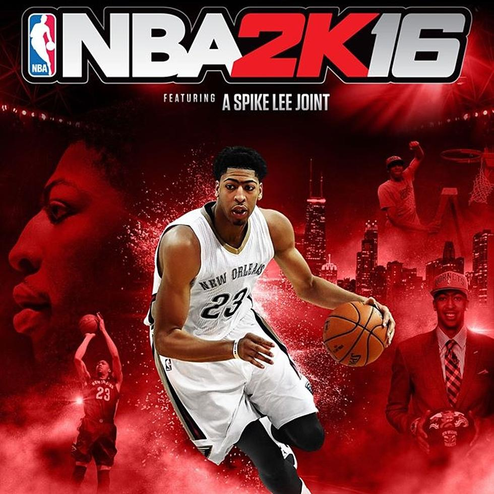 Anthony Davis Graces Cover Of Nba 2k Video Game