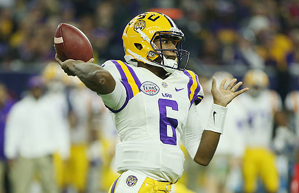 North Carolina adds former LSU quarterback Brandon Harris