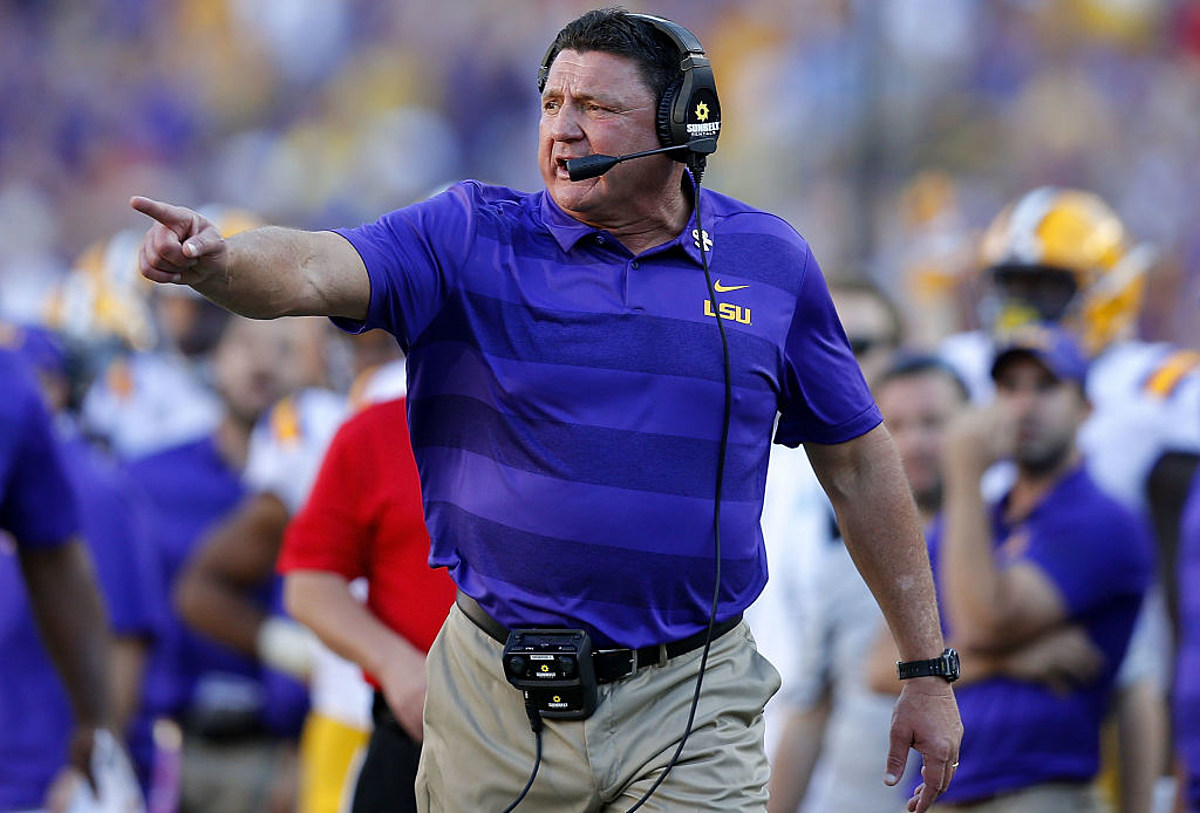 Ed Orgeron Weekly Press Conference Previewing Miss St