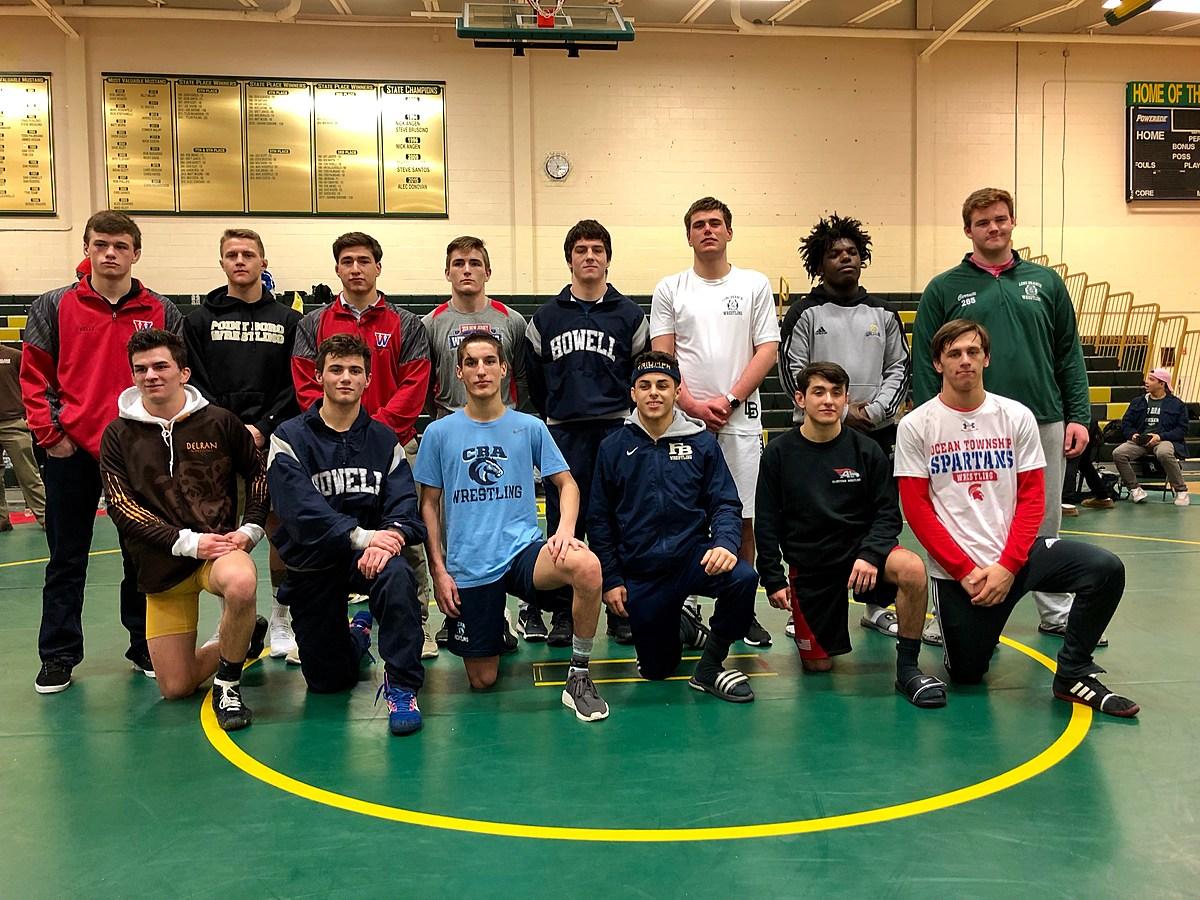 Wrestling: Messina, Marshall, Mueller Shine at Region 6