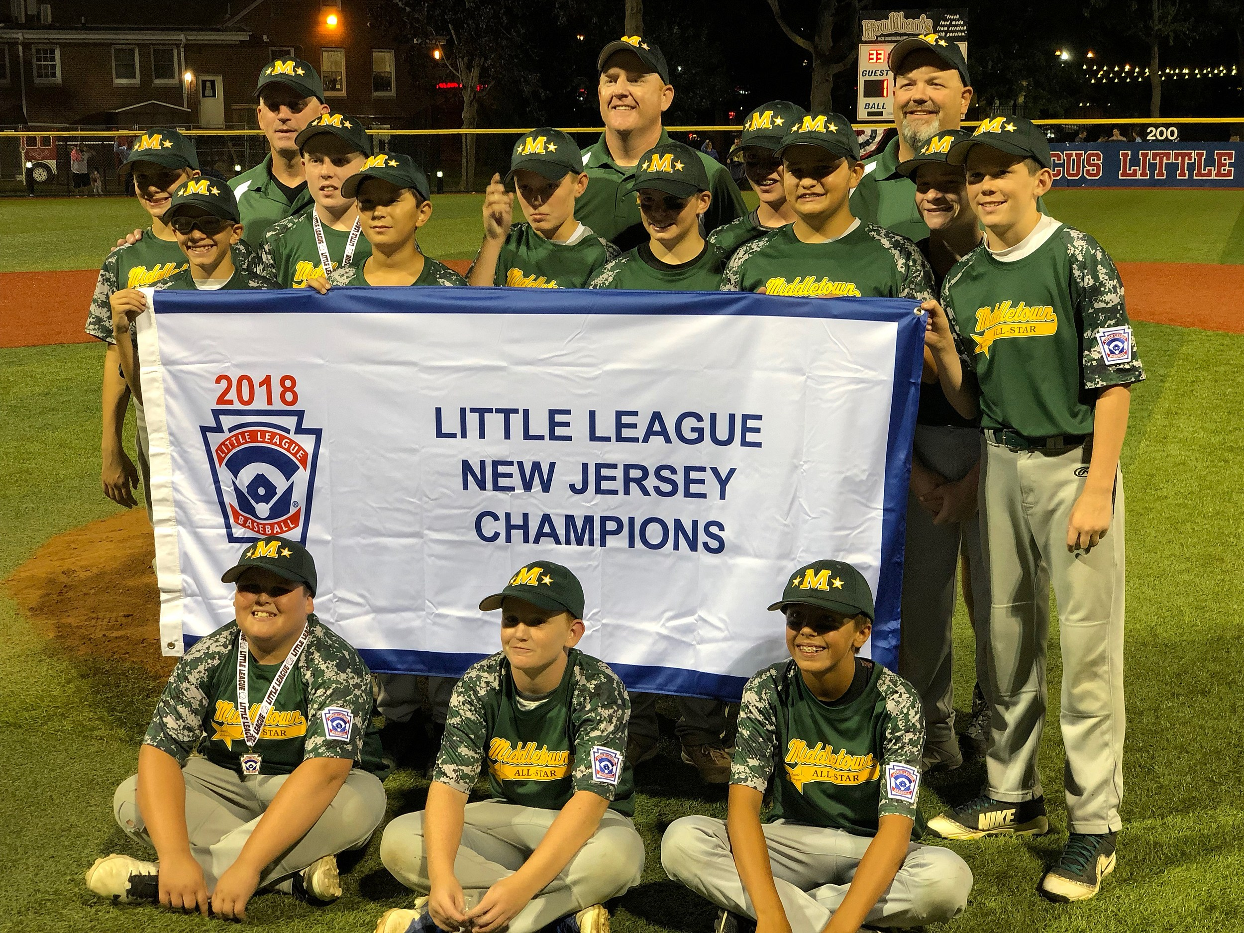 Baseball Middletown Little League Bows Out Of Regionals