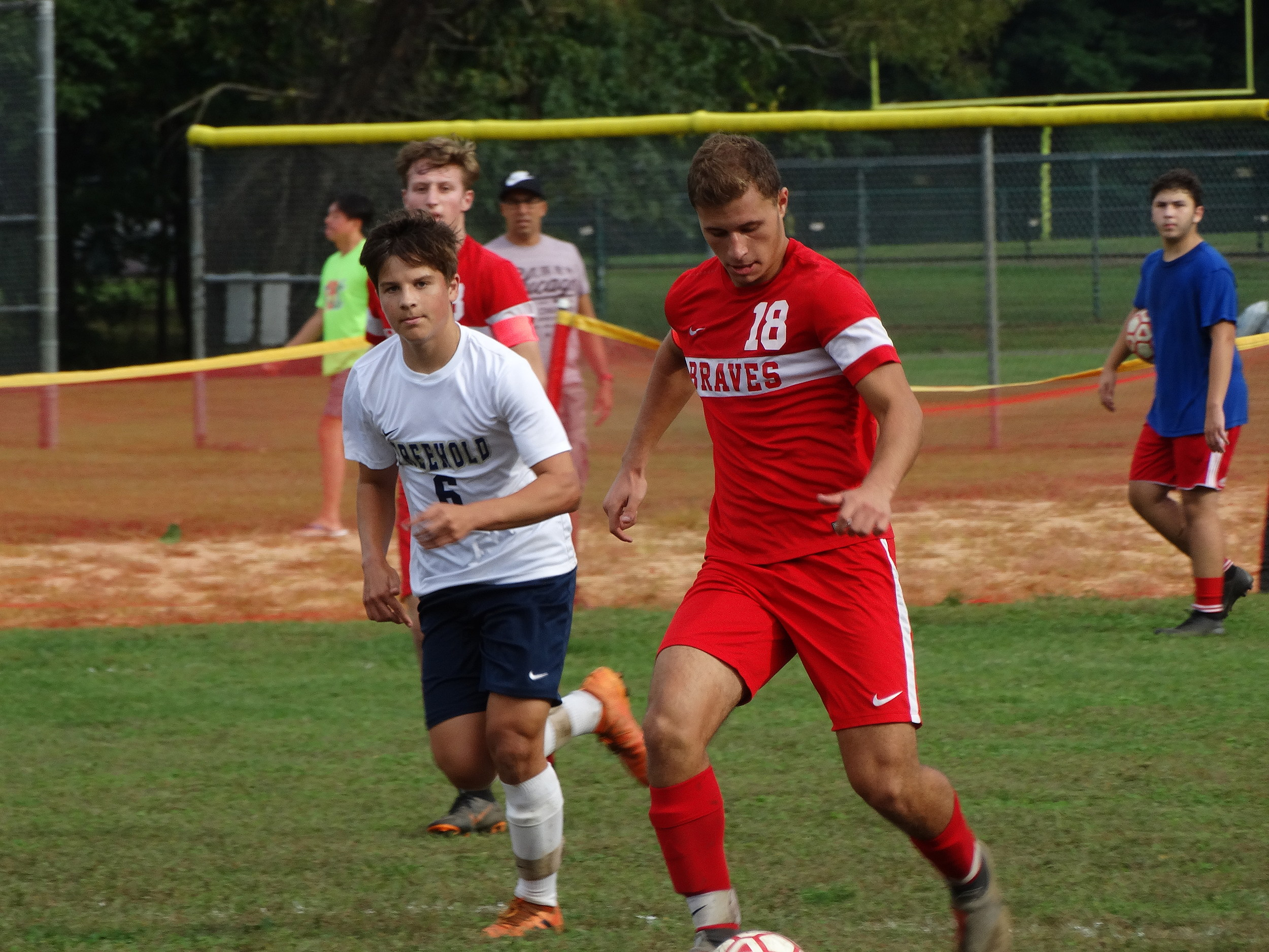 04bab913e Boys Soccer – No. 10 Manalapan Climbs Over .500 With Win Over Freehold Boro