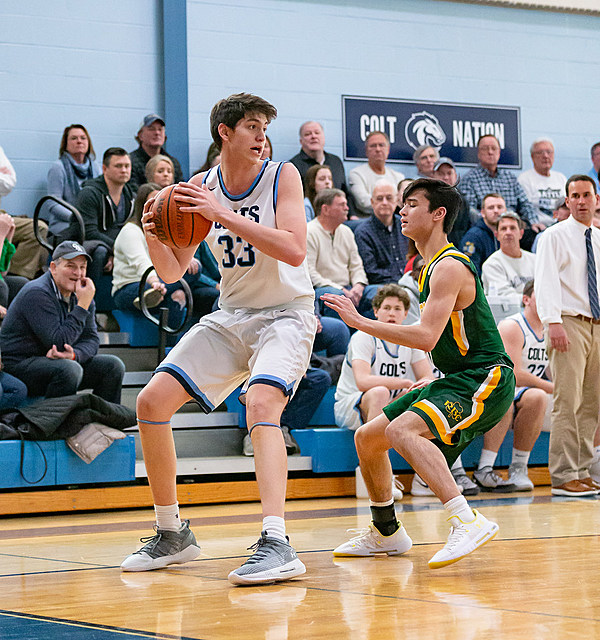 Boys Basketball – CBA Hammers RBC for Another Payback Win