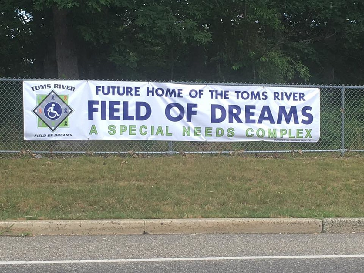 Toms River Field Of Dreams Opening Date October 2021