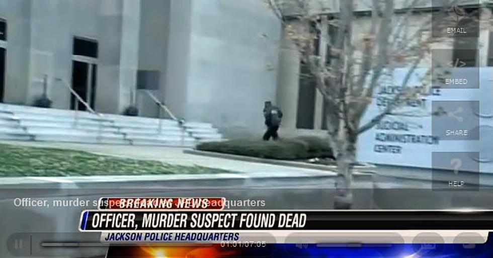 Murder Suspect Shoots Miss  Cop Inside Police HQ