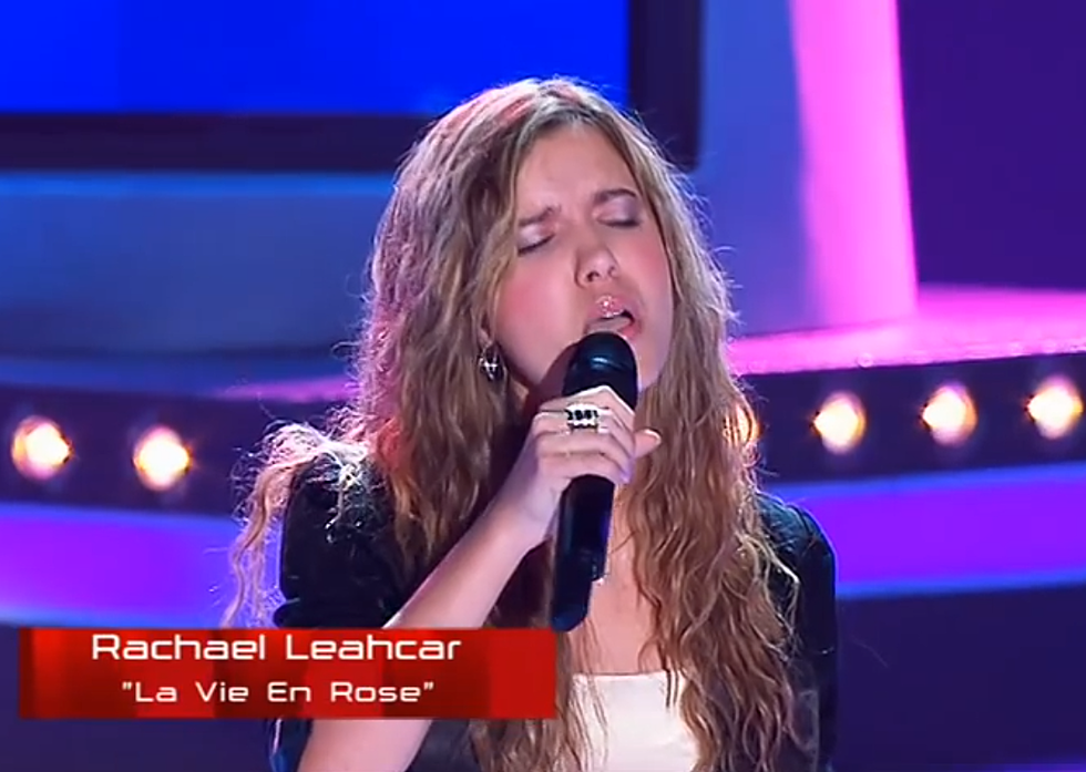 Rachel Leahcar's Amazing Performance on the Voice Australia