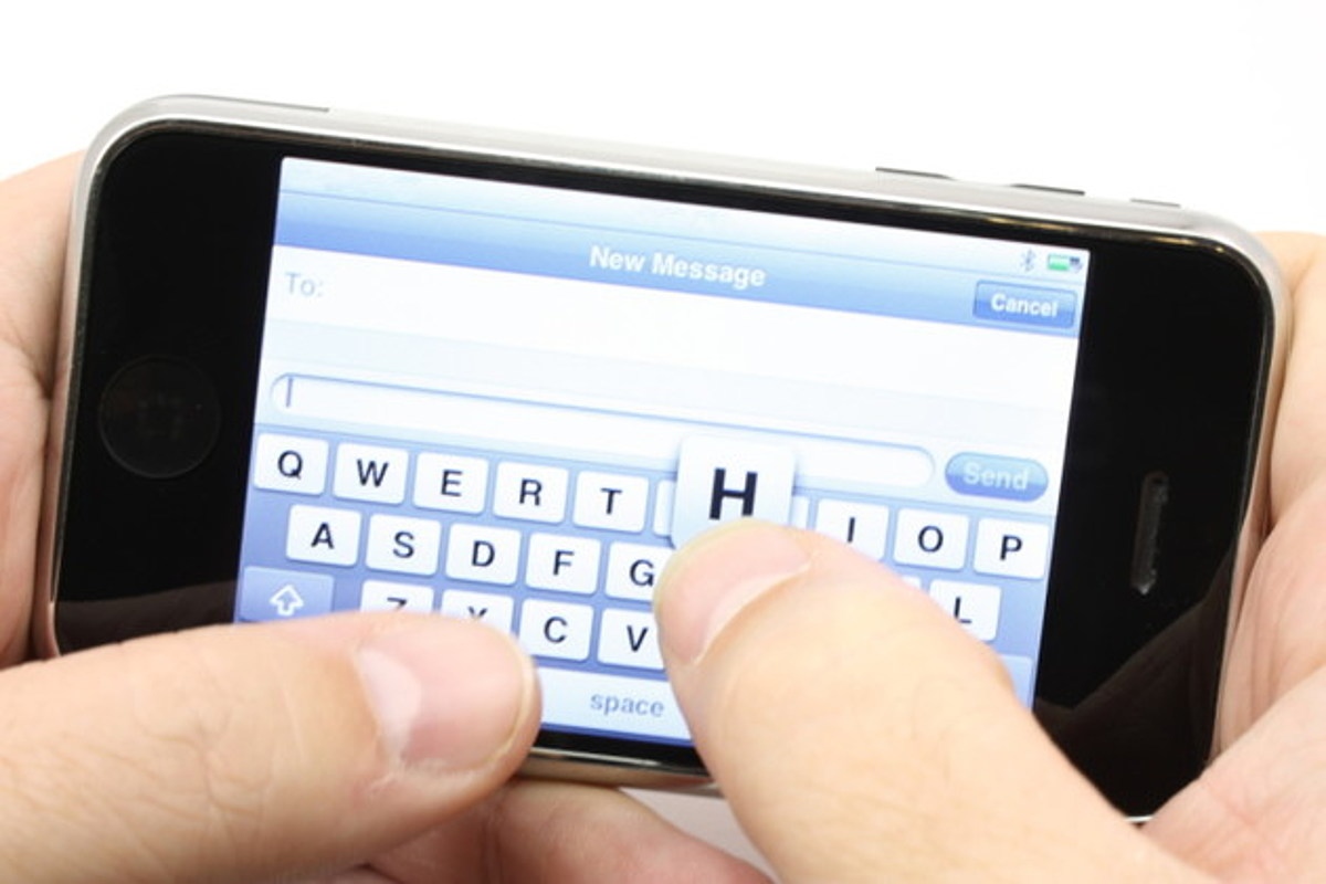 text message cellphone picture - HD1200×800