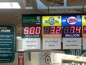 Powerball numbers announced