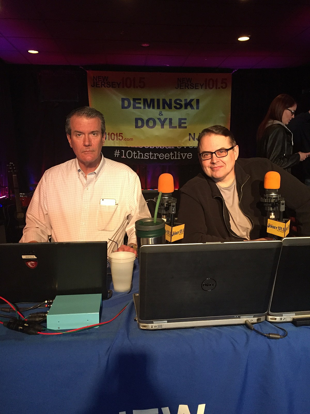 Deminski and Doyle live from 10th Street Live in Kenilworth