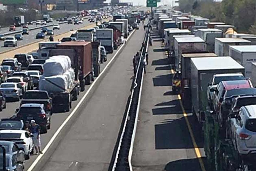 NJ Turnpike Humvee accident seriously injures soldiers [PHOTOS]