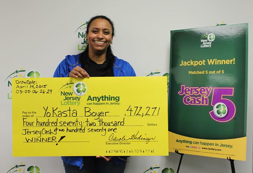 While cleaning her room, NJ woman finds lottery ticket worth